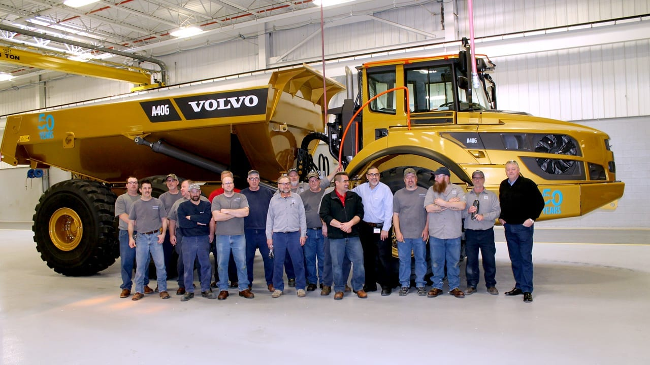 11f8bb2d0 Going for Gold, Volvo CE North America Celebrates Articulated ...