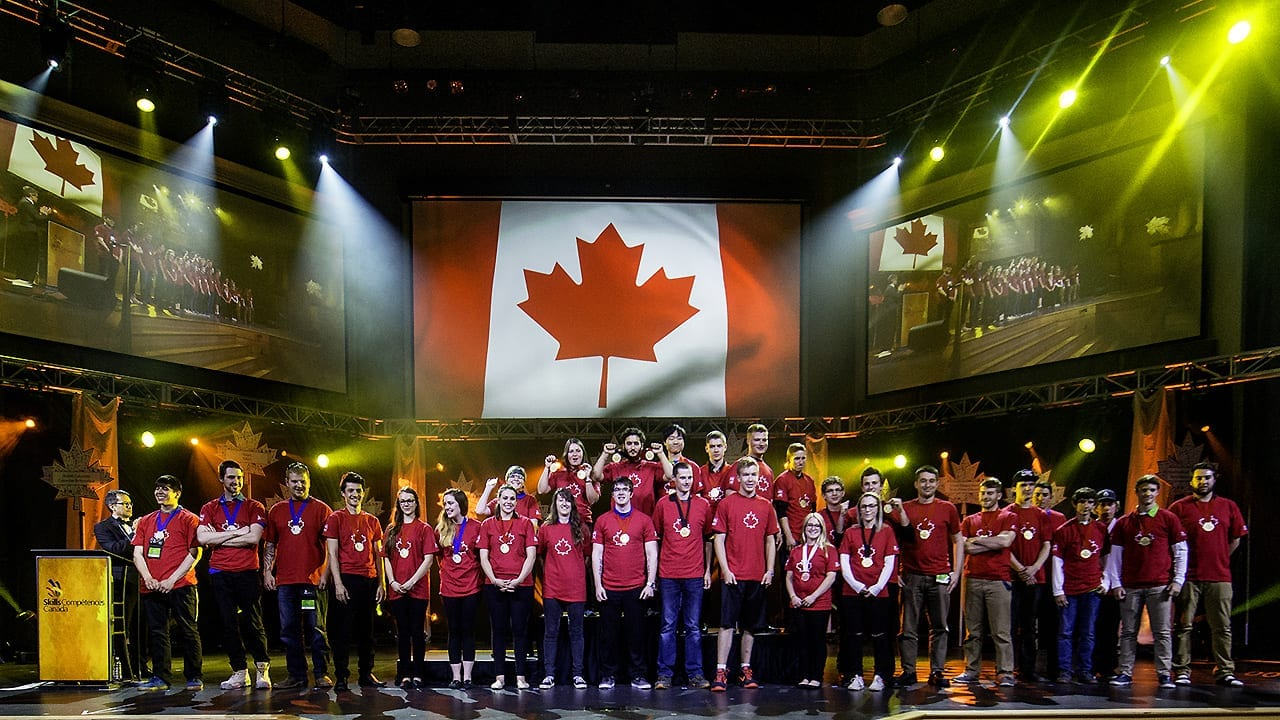TOP TALENT AWARDED AT SKILLS CANADA NATIONAL COMPETITION