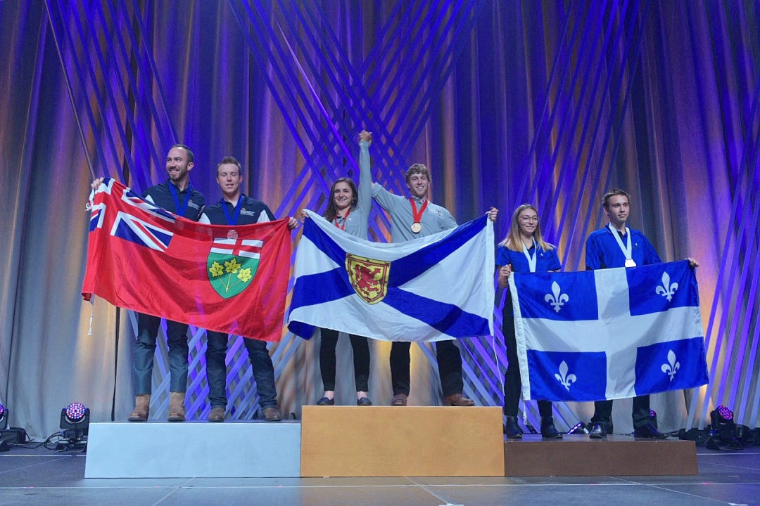 NATIONAL CHAMPIONS IN 44 SKILL AREAS ARE CROWNED AT THE 2018 SKILLS CANADA NATIONAL COMPETITION