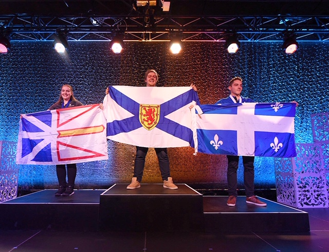 NATIONAL CHAMPIONS IN 44 SKILL AREAS MEDALED AT THE 2019 SKILLS CANADA NATIONAL COMPETITION
