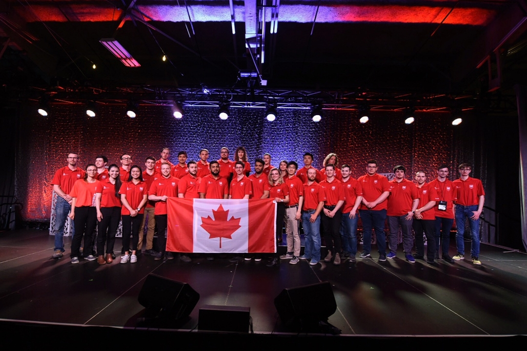 OFFICIAL MEMBERS OF WORLDSKILLS TEAM CANADA 2019 GET READY FOR RUSSIA
