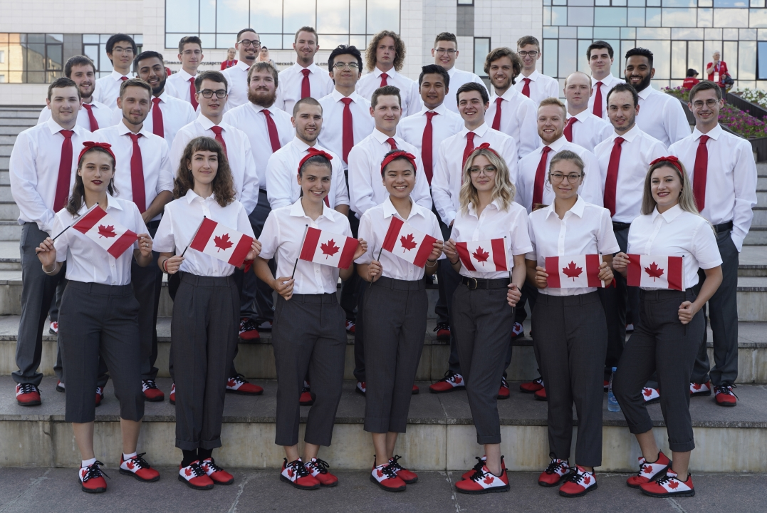 WORLDSKILLS TEAM CANADA 2019 CELEBRATES THEIR PARTICIPATION AT THE 45TH WORLDSKILLS COMPETITION, IN KAZAN, RUSSIA